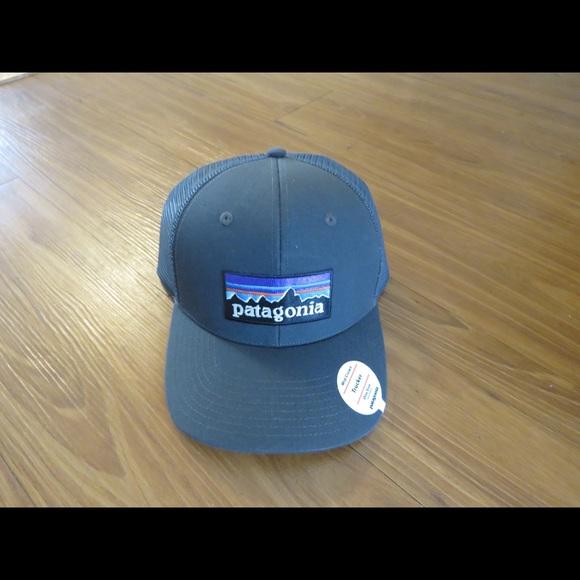26ed92b26c8 Brand new Patagonia logo trucker hat!